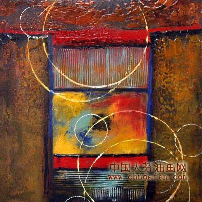 现代抽象画1