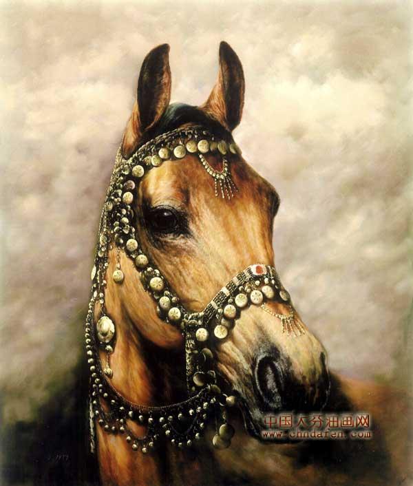 动物油画之马--逸品油画艺术网