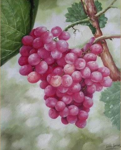 油画静物水果图片 油画静物水果 水果油画 静物油画 逸品油画艺术网