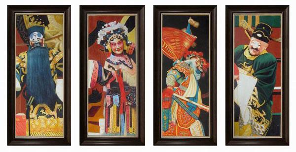 抽象人物装饰画 创意工艺