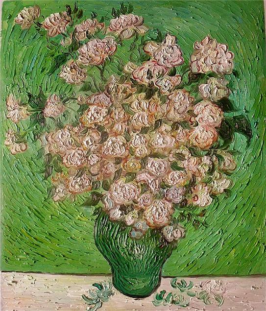 抽象油画图片1之花卉静物