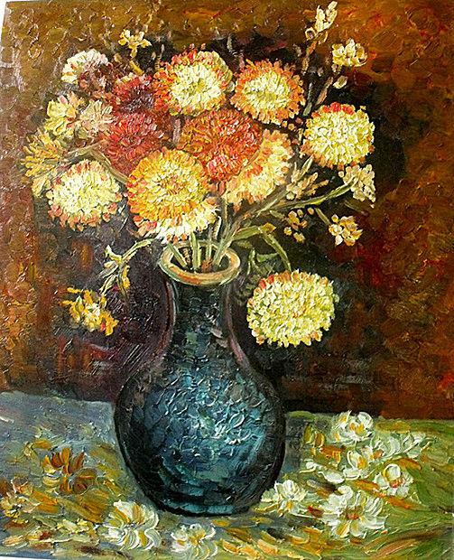 抽象油画图片8之抽象油画家