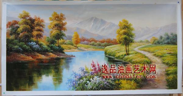 欧式风景油画_油画临摹--逸品油画艺术网